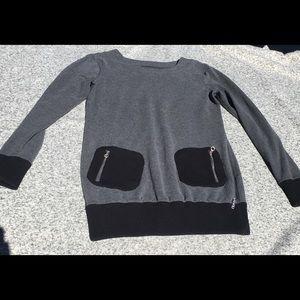 Calvin Klein Performance Tunic Sweatshirt Pockets